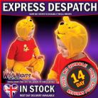FANCY DRESS COSTUME ~ CLASSIC WINNIE THE POOH TODDLER AGE 2-3 YEARS